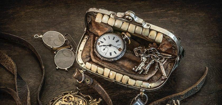 Steampunk-Handtasche von Alexander Schlesier