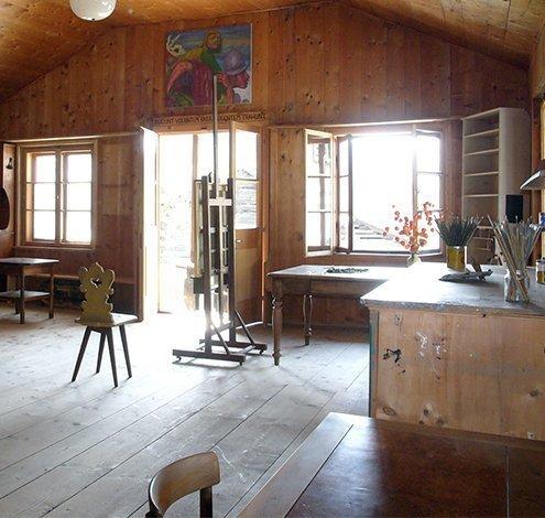 Die Semper-Villa im Bergell