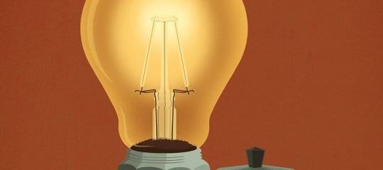 Illustration Energie aus Kaffeesatz | Strom Online – Energie erleben